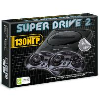 Sega Super Drive 2 Classic (130-in-1) Black